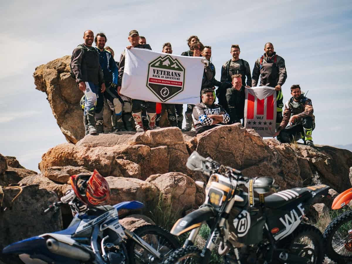 WLF Enduro Operation Two Wheel Freedom Motorcycle Ride Day