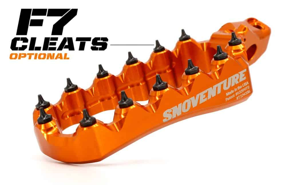 Fastway F7 Cleats for ultimate Grip on your Foot Pegs